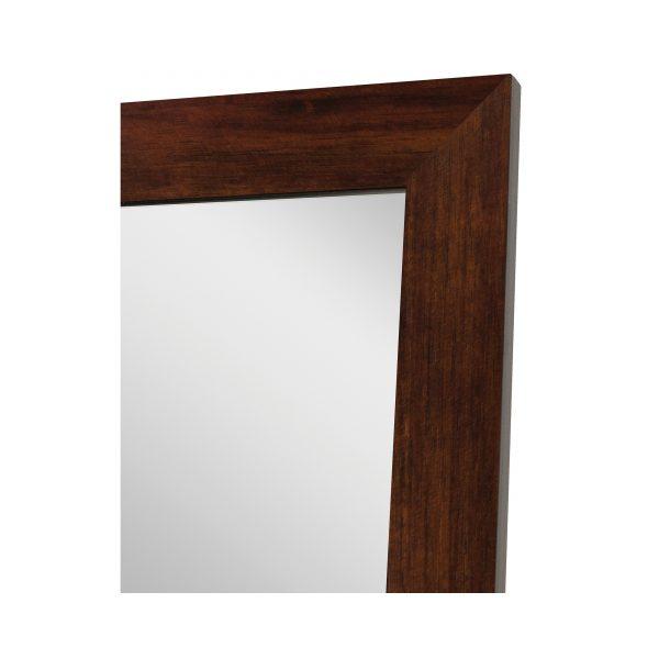 """Teak Non-Beveled Vanity (36"""" x 50"""")"""