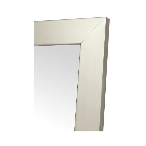 "Fornari Silver Non-Beveled Vanity (25"" x 40"")"