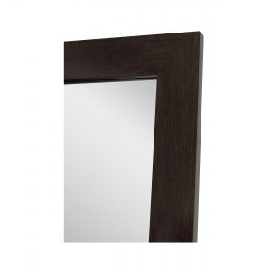 "Ipe Brown Non-Beveled Vanity (25"" x 40"")"