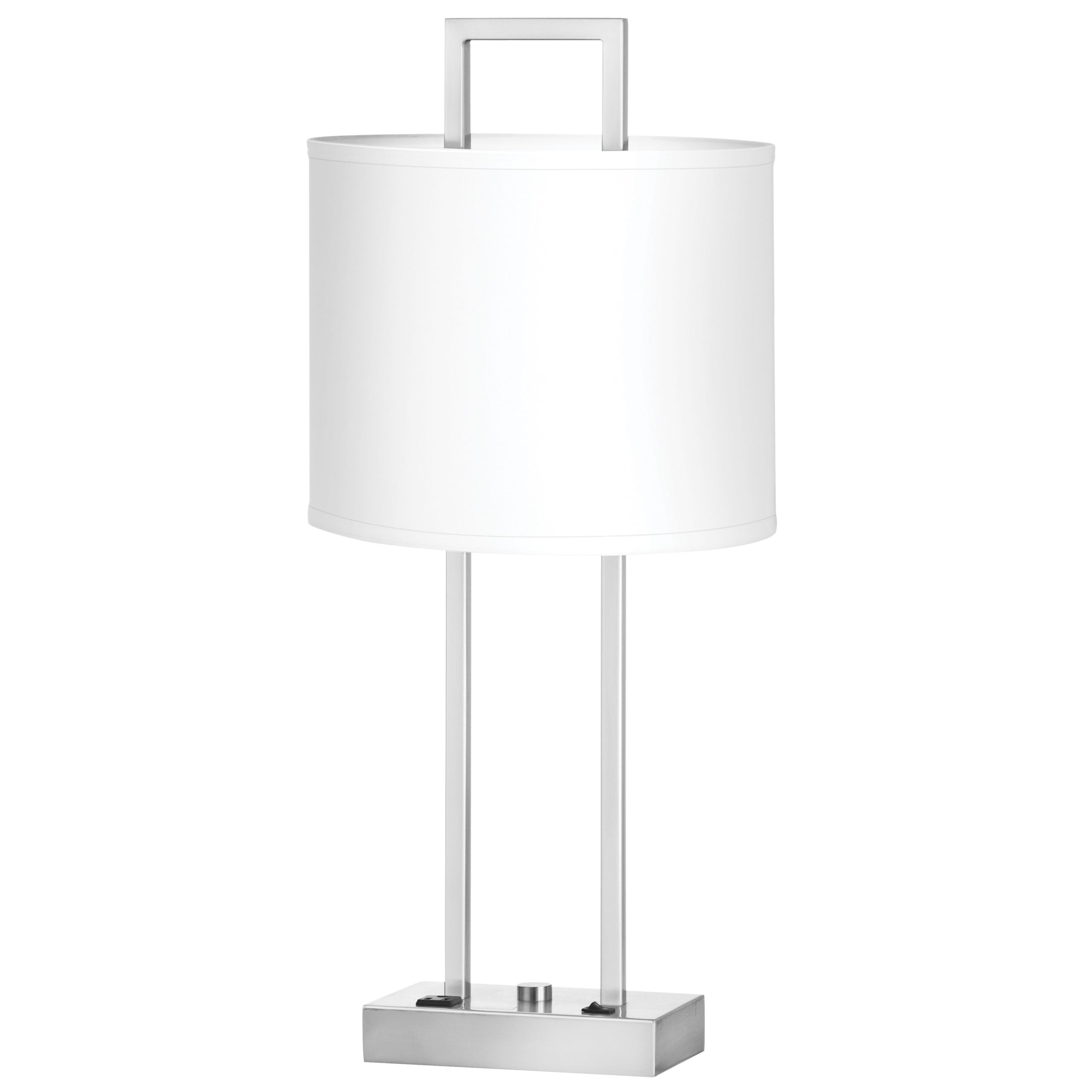 Prestige Single Table Lamp with 1 Outlet