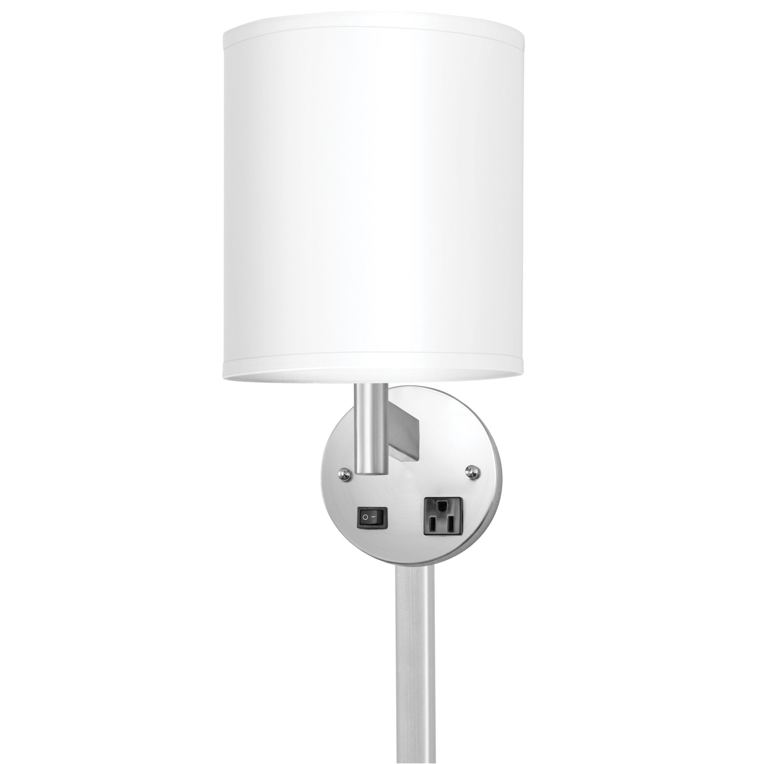 Corbel Single Wall Lamp with 1 Outlet