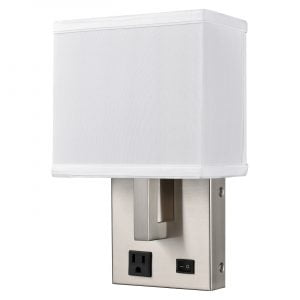 Gatsby Single Wall Lamp with 1 Outlet