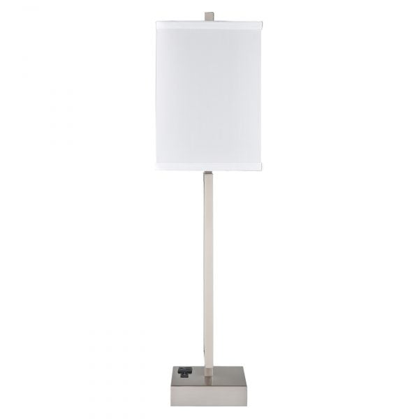 Gatsby Single Table Lamp with 1 Outlet