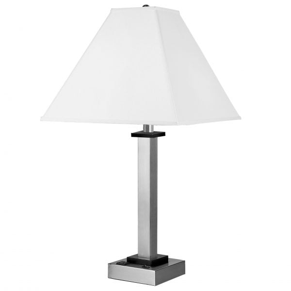 Andaaz Single Table Lamp with 1 Outlet