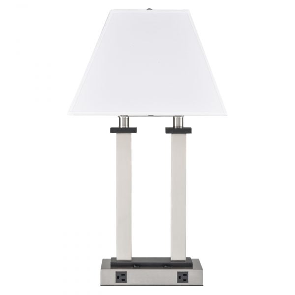 Andaaz Desk Lamp with 2 Outlets
