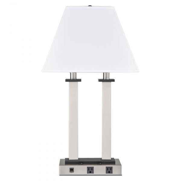 Andaaz Desk Lamp with 2 Outlets & Data Port