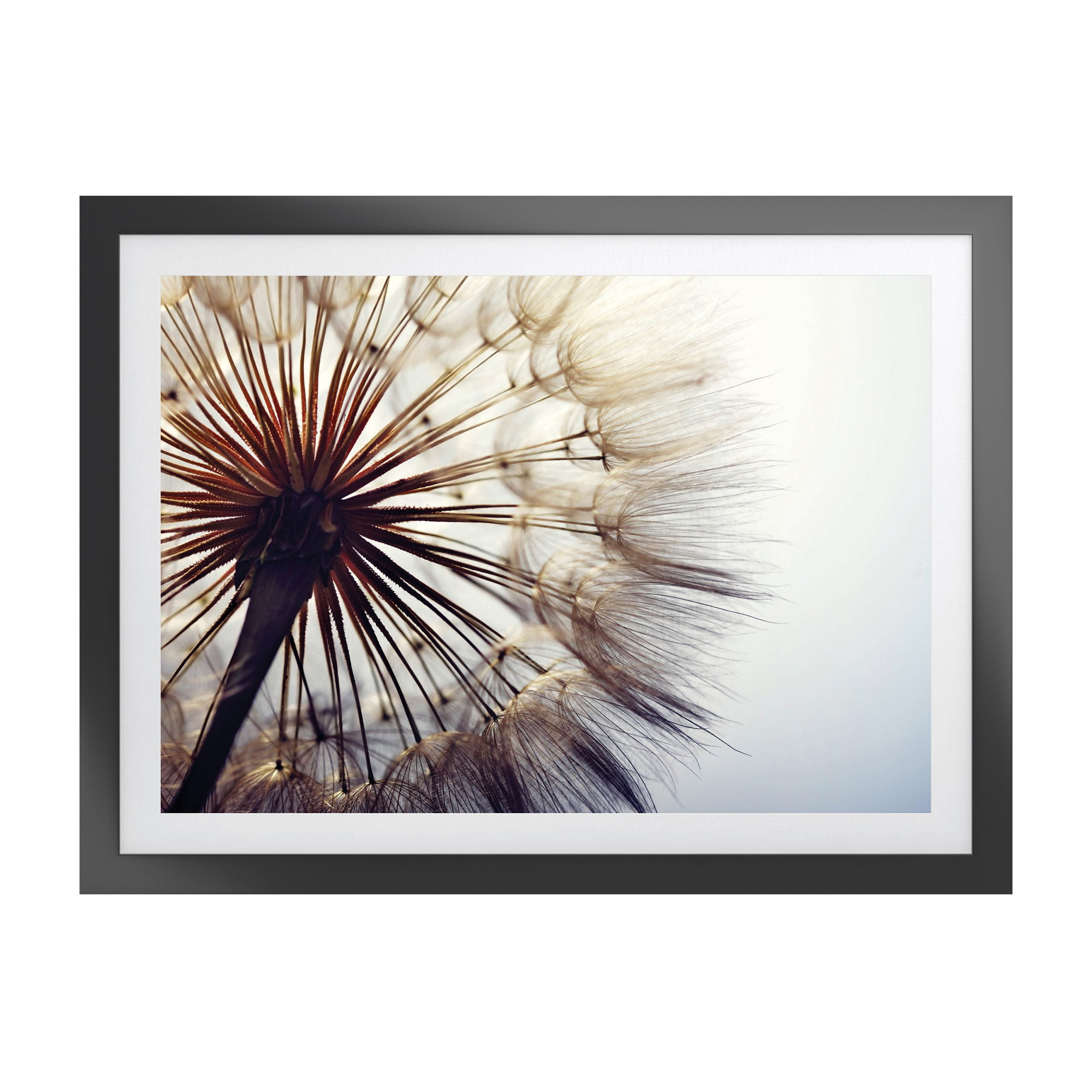 Woodspring Artwork with Fornari Black Frame