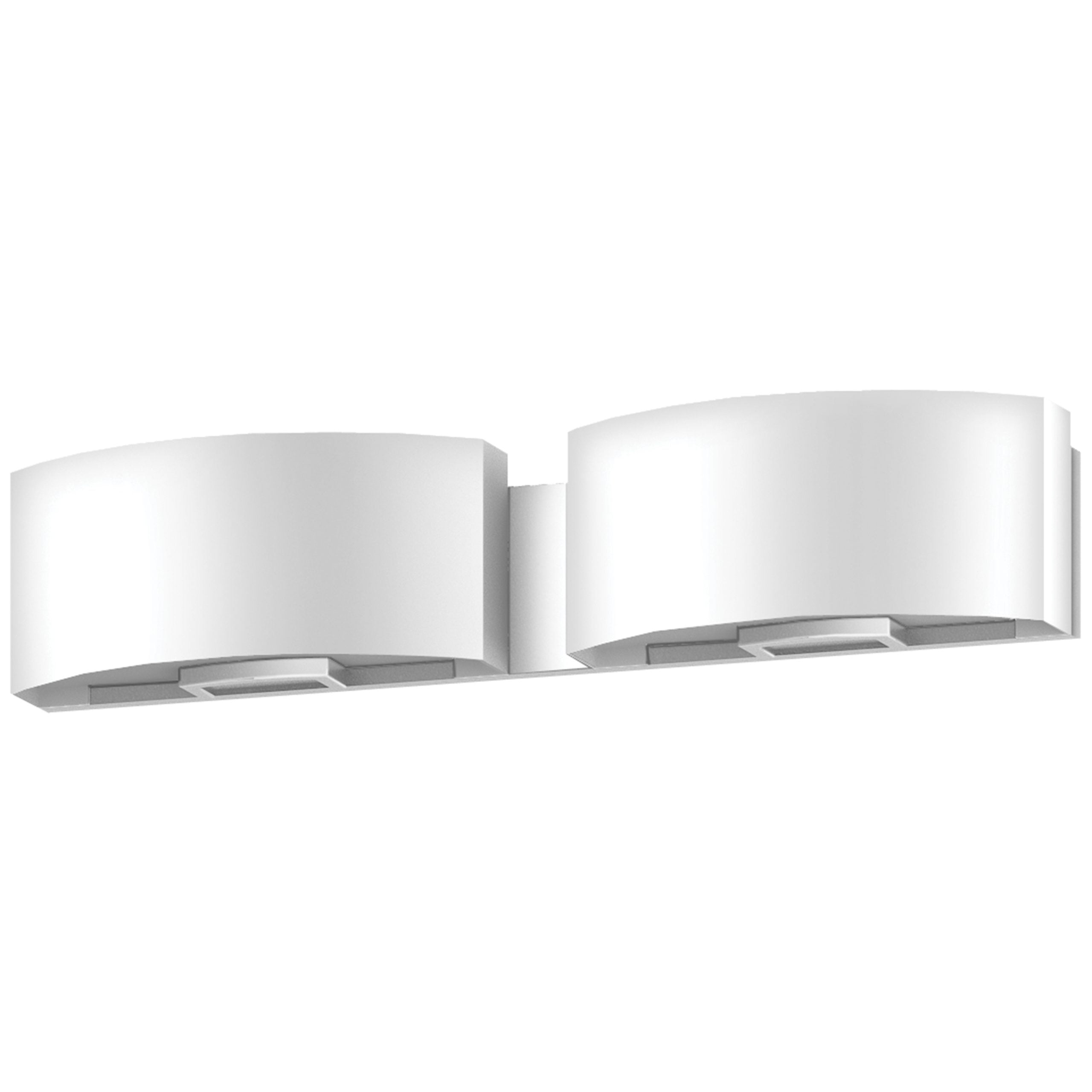 "24""W Satin Nickel Vanity Light with Frosted Acrylic Shade"