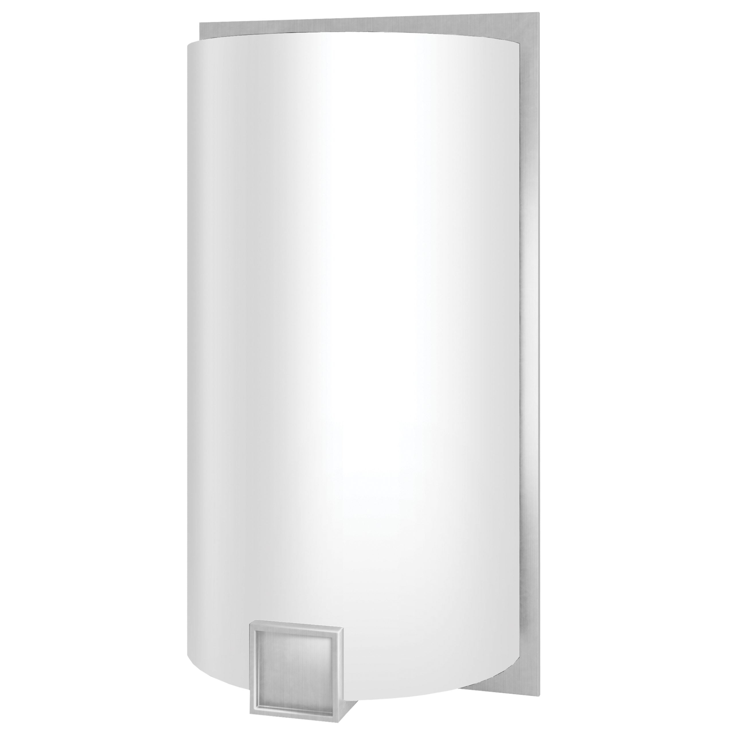 Truly Yours Satin Nickel 12in Wall Sconce
