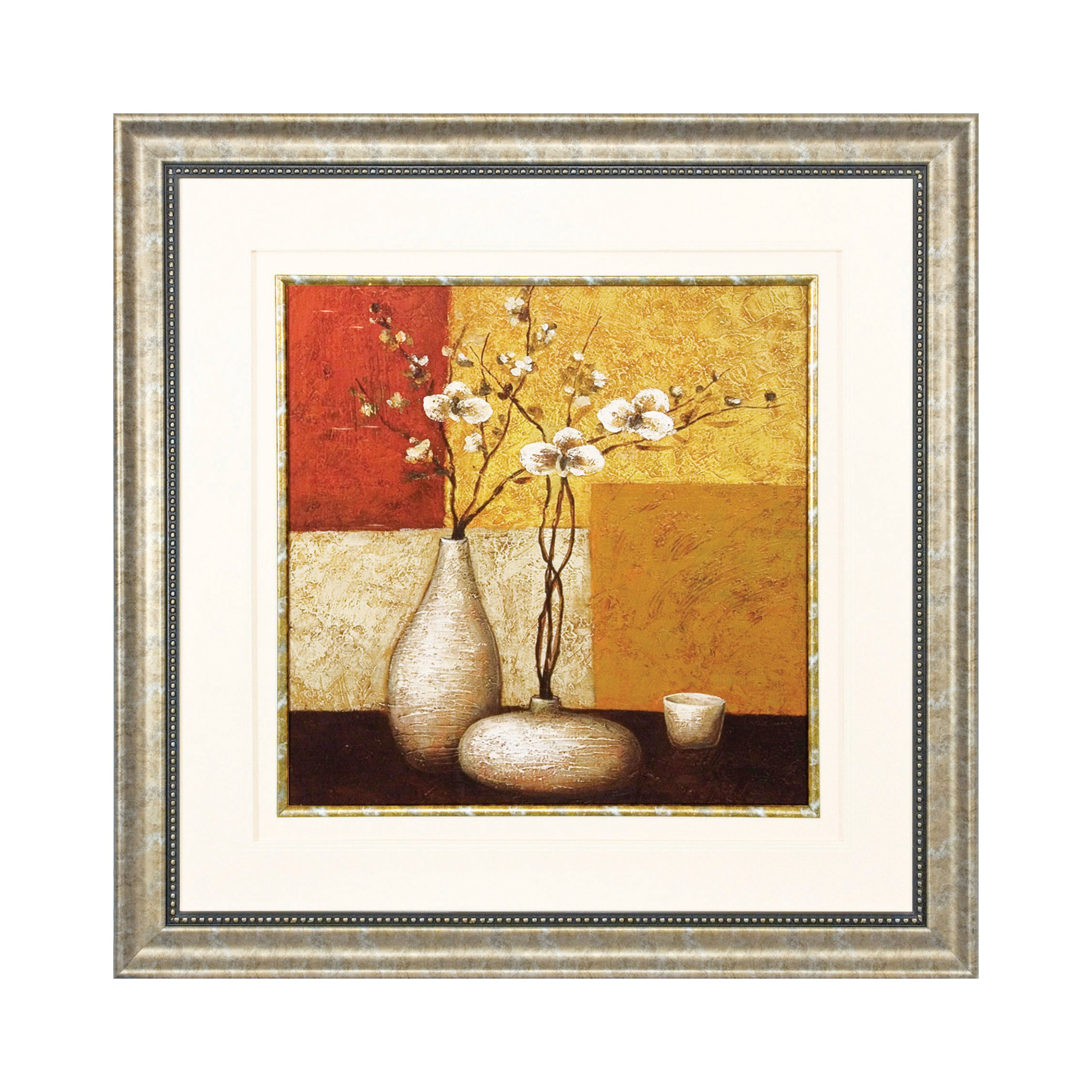 Autumn Bloom Artwork with Roma Frame