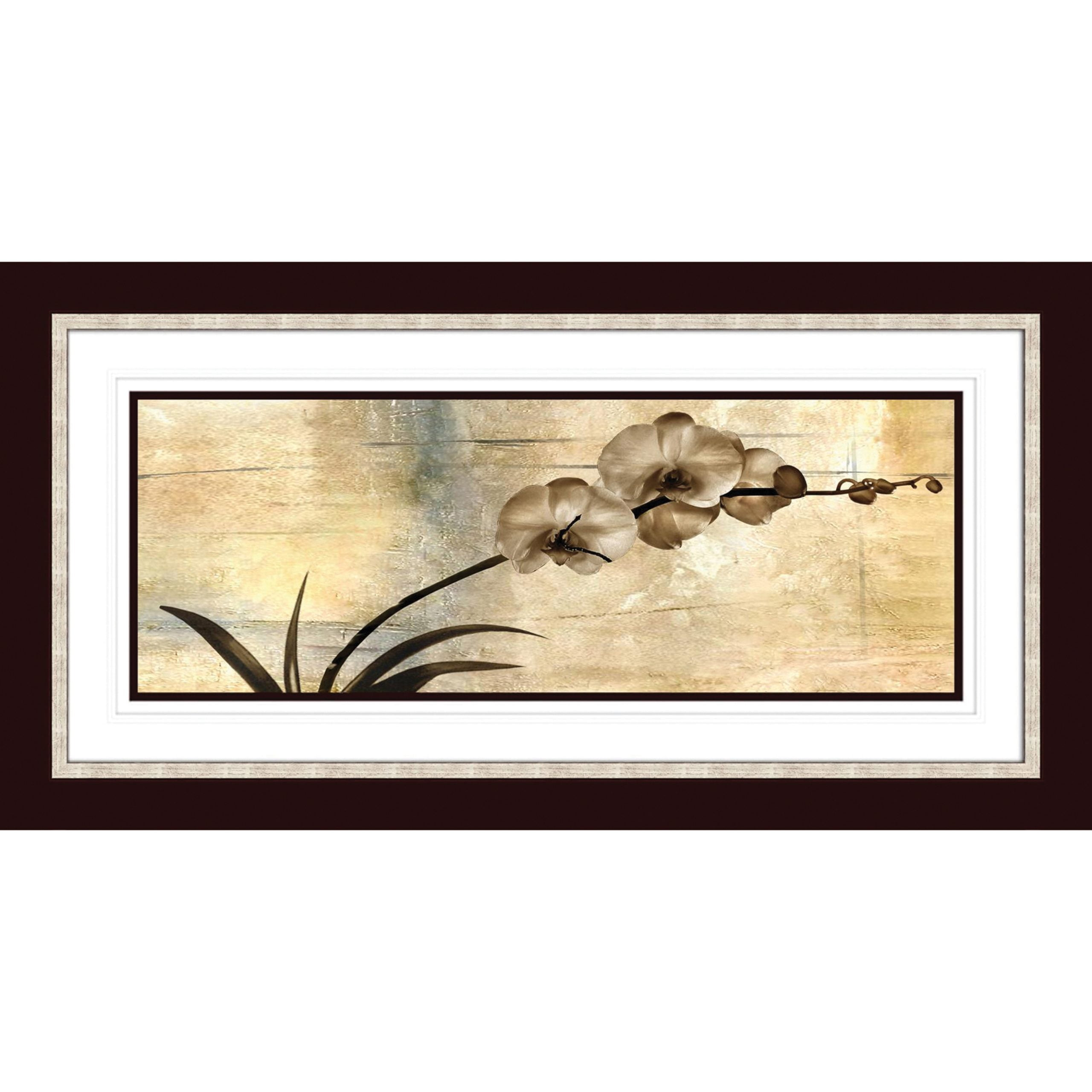 Exotic Blooms Artwork with Calisto Frame