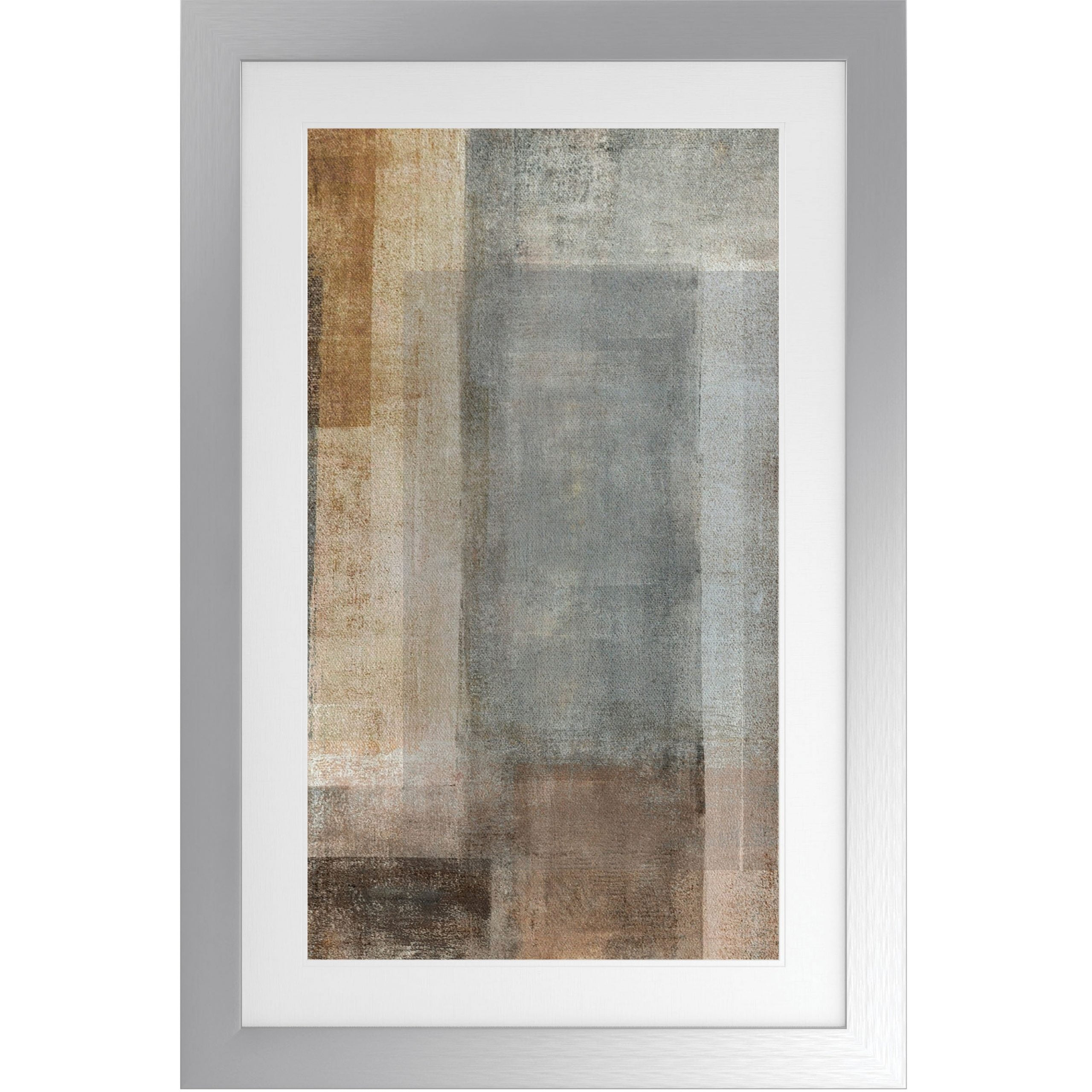 Haze Artwork with Fornari Silver Frame