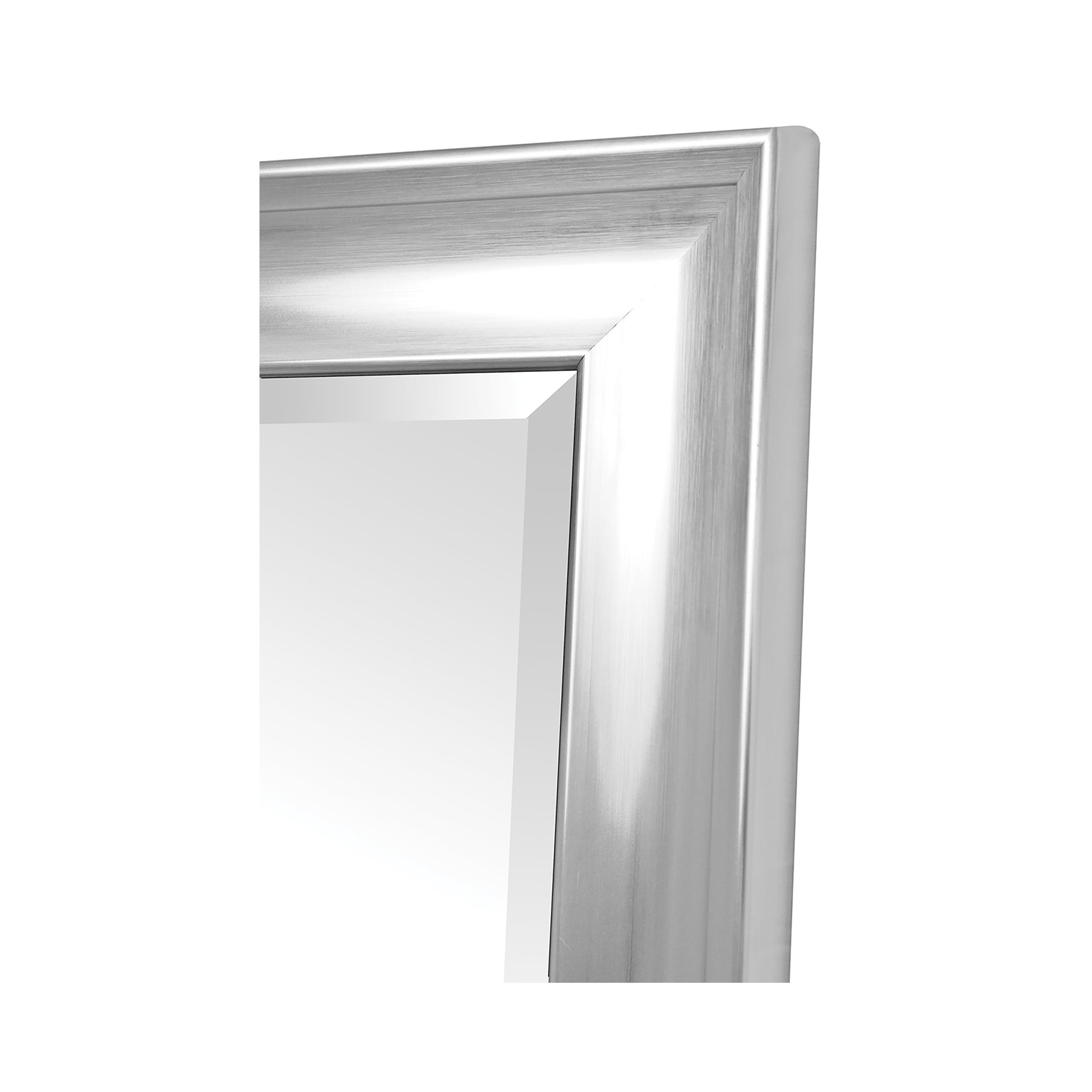 "Argento Silver Vanity (40"" x 36"")"