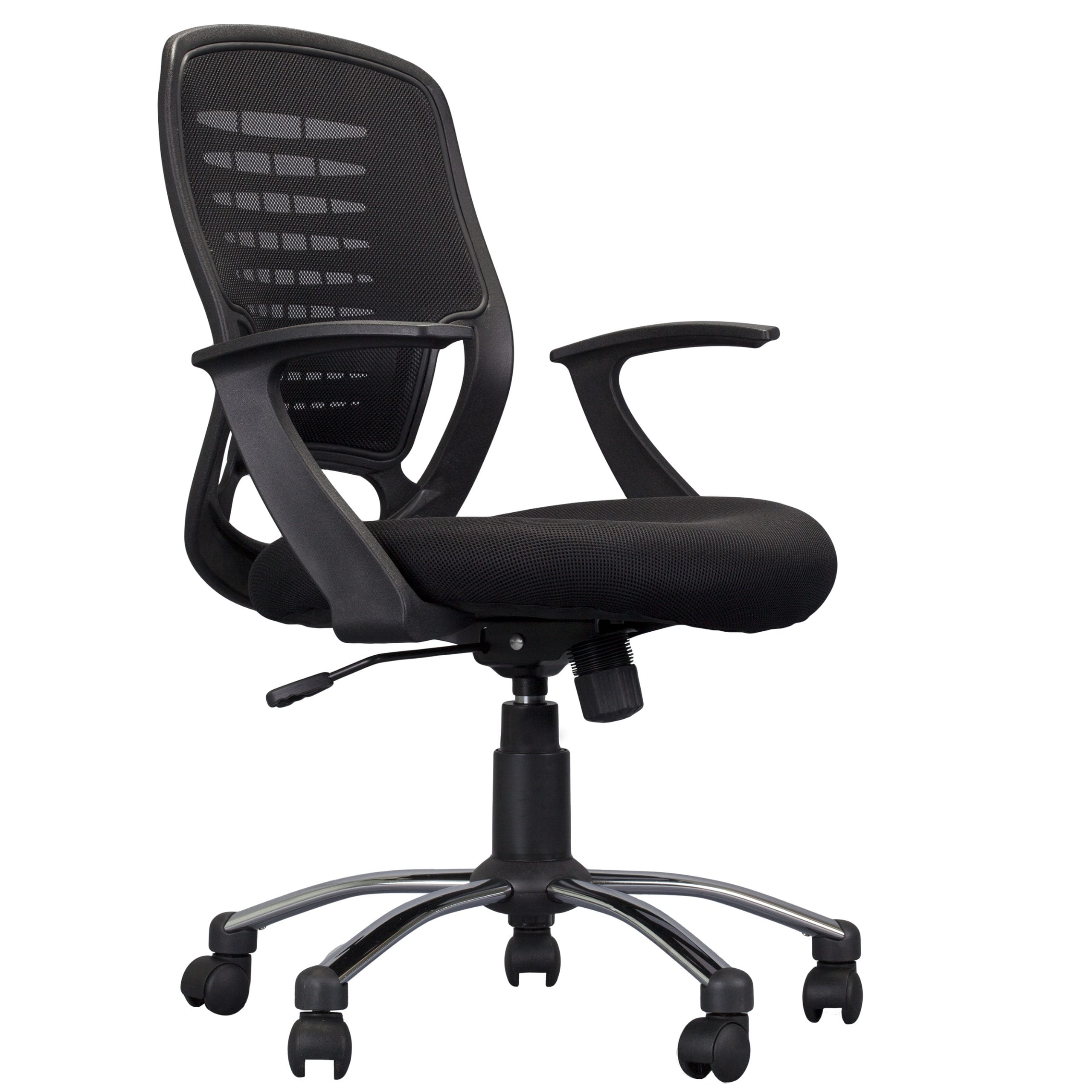 Emilia Mid Back Task Chair with Arms