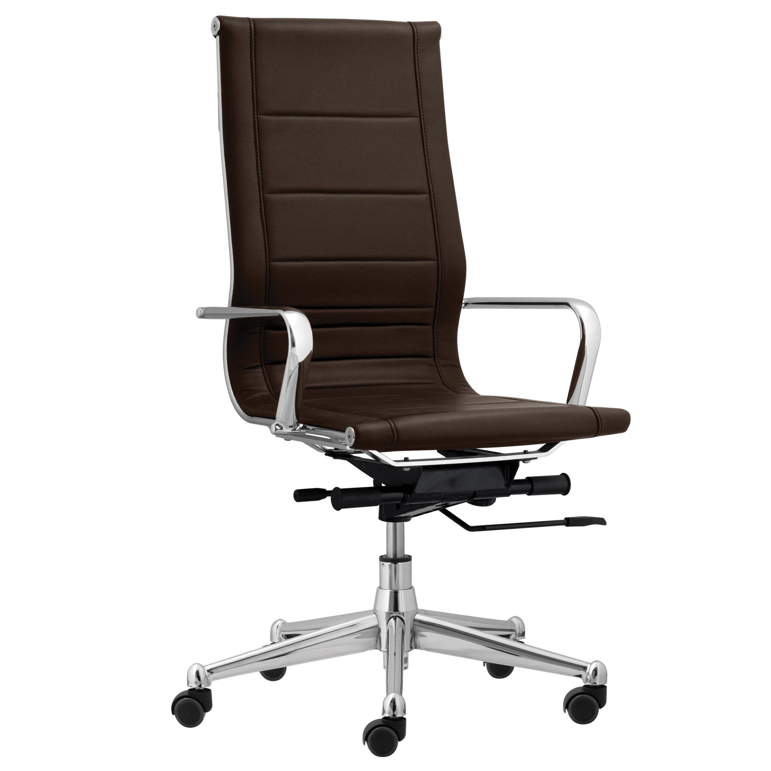 Florence High Back Task Chair with Soft Arms - Black