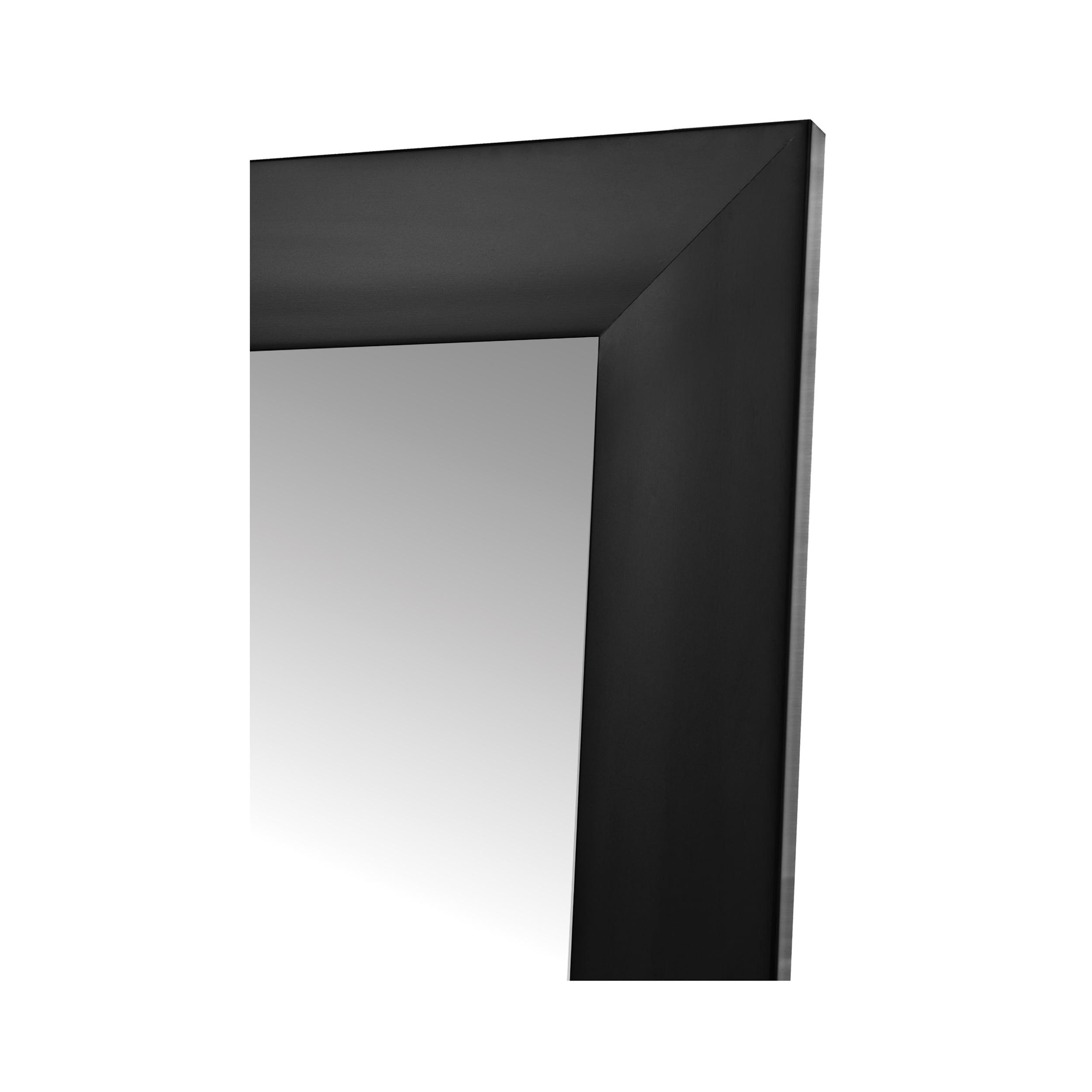 """Fornari Black Non-Beveled Full Length (20"""" x 60"""")"""